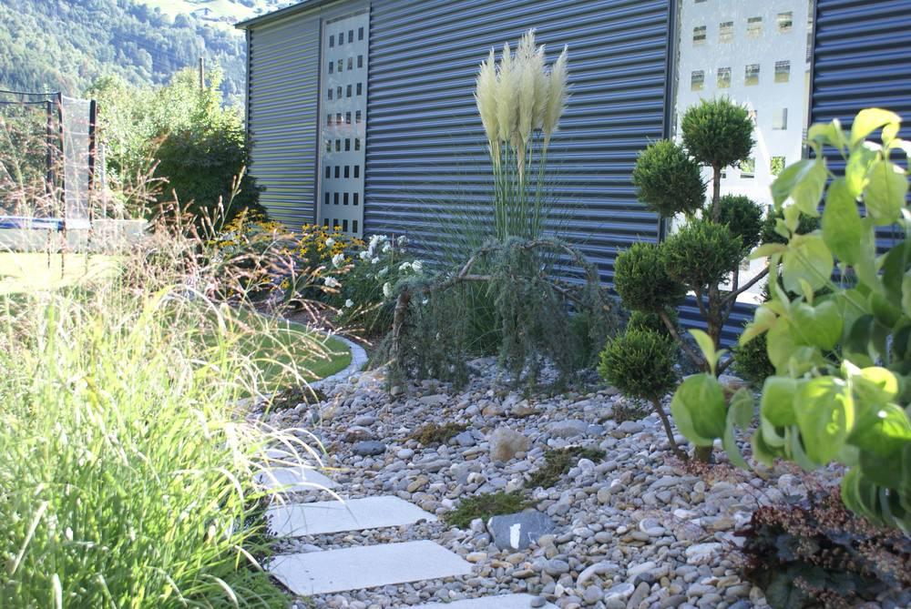 Gartenplanung Eines Gartenteiches