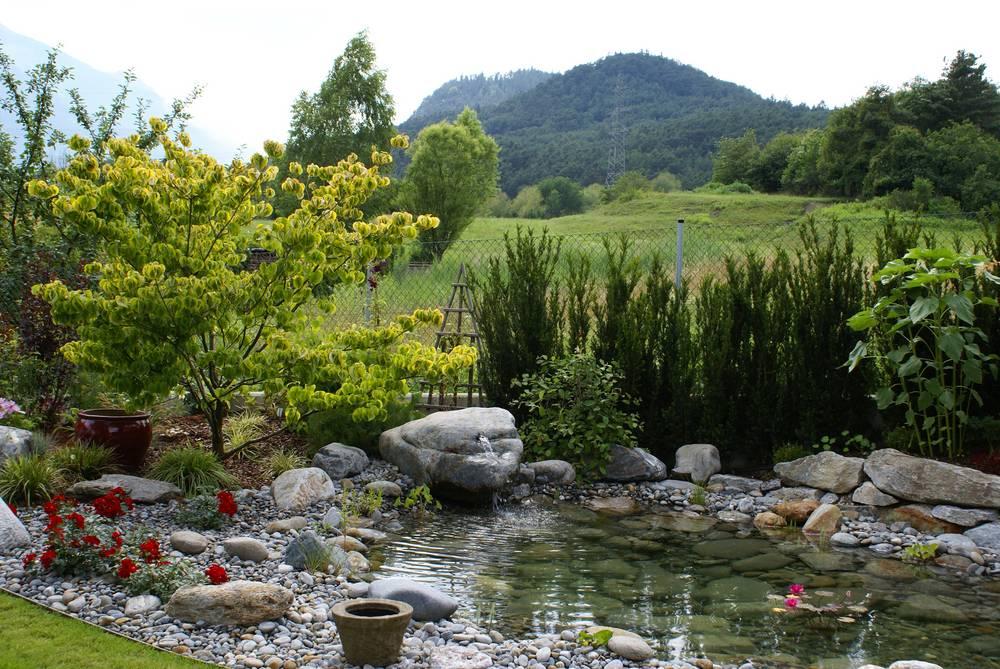 Wasser im garten garten wammes for Gartengestaltung quellstein